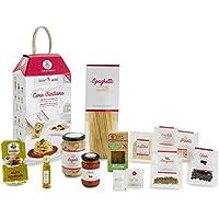 LA CENA SICILIANA (Crema di Cannellini e Spaghetti alle Alici) My Cooking Box - Idea Regalo Natale