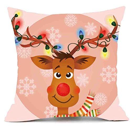 Hot Sales. ubabamama Merry Christmas Kissen Bezug Decor Kissenbezug Sofa Taille Überwurf Kissenbezug Home Dekoration h