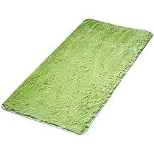 Bodhi2000® Soft Shaggy Area Rugs Living Room Carpet Bedroom Door Floor Mat Grass Green 50x80cm
