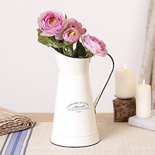 French Country creme Krug Vase (B385)-die perfekte Zubehör Ihre Blumen–H 30x D 20cm