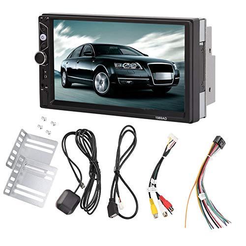 Qinlorgo 7 Zoll 2 DIN Quad-Core Bluetooth Auto MP5 Player für Android GPS Navigator Stereo Radio Player -
