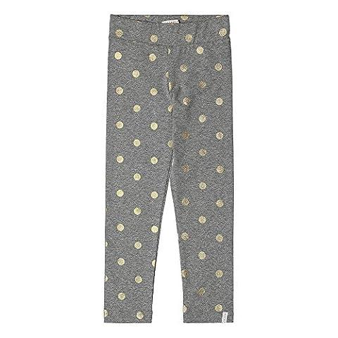 ESPRIT Mädchen Slim Fit Leggings RK24033, Grau (Light Heather Grey 221), 128/134 (Herstellergröße: 8 Jahre)