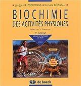 Biochimie des activités physiques