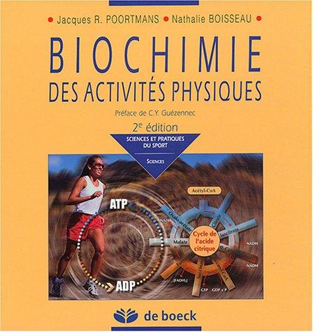 Biochimie des activits physiques