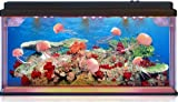 Moving Jelly Fish Tank with LED lights, 3D backing - STUNNING! Fantastic gift! By Playlearn