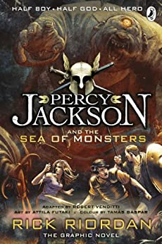 Percy Jackson and the Sea of Monsters: The Graphic Novel (Book 2) (Percy Jackson and the Olympians: The Graphic Novel) by [Riordan, Rick]