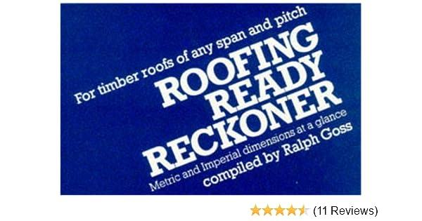 Roofing Ready Reckoner Paperback 25 Mar 1987