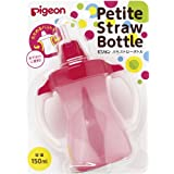 Pigeon Petit Straw Bottle Milkey Strawberry 150mL By Pigeon