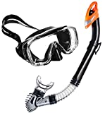 Máscara Premium / Gafas y tubo de snorkel TRISEVEN ADVANCED SWIM calidad y satisfacción, SUPER PRECIO