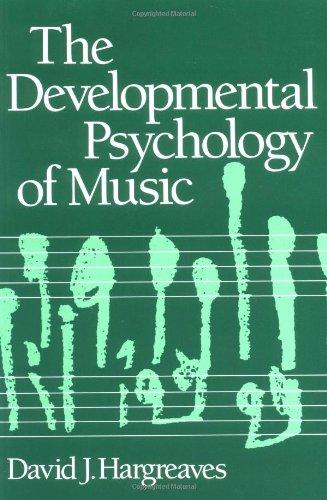 Developmental Psychology of Music PDF Books