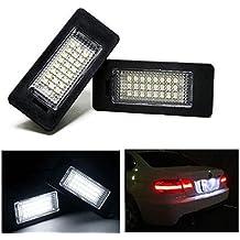 Ruesious 24-SMD error libre LED licencia placa lámparas ...
