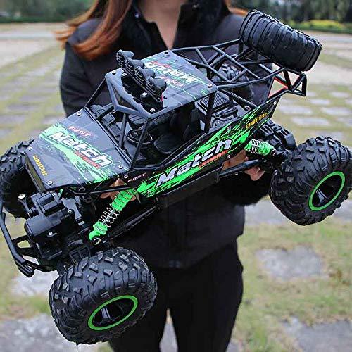 YXWJ 1:12 4WD RC Cars 2.4G Radio Control Toys Buggy Camiones de Alta Velocidad Off-Road para niños Coche Rock Crawlers 4x4 Driving Double Motors Drive Bigfoot Modelo Remoto Vehículo de Juguete