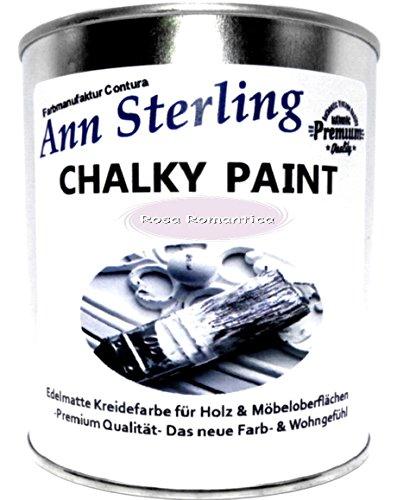 Ann Sterling Kreidefarbe Shabby Chic Farbe: Rosa Romantica 1Kg. / 750ml. Lack Chalky Paint