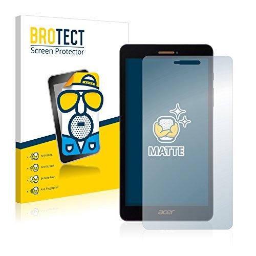 BROTECT Entspiegelungs-Schutzfolie kompatibel mit Acer Iconia Talk S A1-734 (2 Stück) - Anti-Reflex, Matt