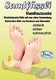 SamtFüssli - Hornhautsocke - streichelzarte Füße mit nur einer Anwendung - Das Original aus dem TV!