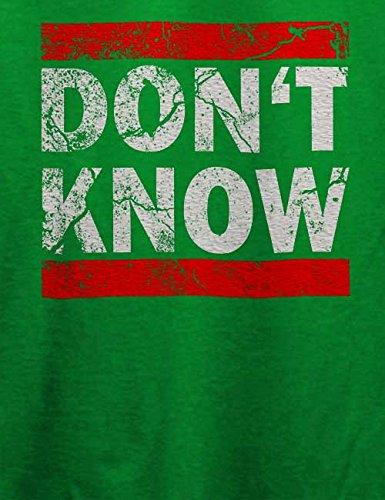 Dont Know Vintage T-Shirt Grün