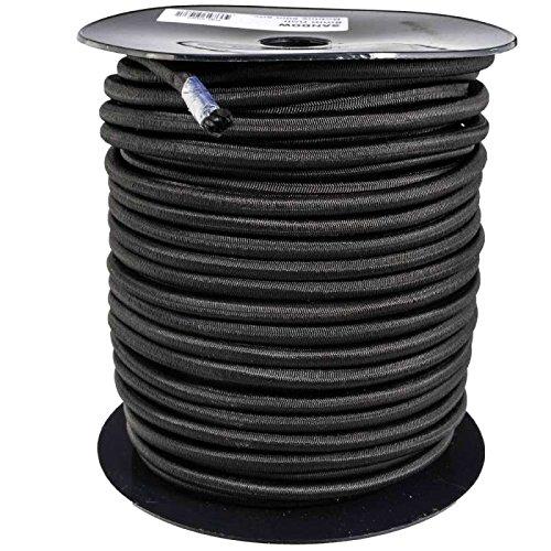 Tendeur noir 8mm x 50 mètres sur bobine