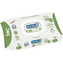 Dodie 2601700 - Toallitas limpiadoras con aceite de oliva bio