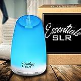 Réflex 120ml Difusor de aceite esencial de aromaterapia con multicolor LED que cambia ultrasónico, Humidificador Aroma Air, AUTO apagado