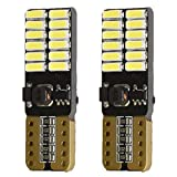 Plat Unique One sided LED T10CANBUS Meuble Tableau de bord dôme Blanc Ampoule veilleuses fin W5W 501Eb6r3