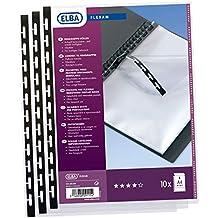 DIN A3 tarifold 214000 Sichtbuch Press-Book FLEXAM 20 H/üllen Schwarz