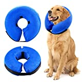 Zunea Schutz aufblasbar Halsband für Hunde und Katzen, Verstellbar Angenehm Weiches Pet Recovery-Operation Wundheilung Konus verhindern Hunde Berühren und Katzen Beißen