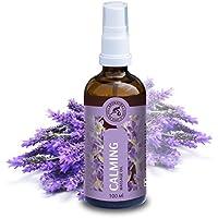 Aceite para Masajes Relajantes 100ml - Aceite de Lavanda 100% Natural - Cosméticos Naturales para Alivio del Estrés - Sueño Reparador - para el Cuidado de la Piel - Aromaterapia - por Aromatika