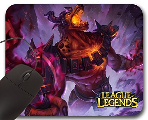 Mousepad Nasus Infernal Skin – Alfombrilla para ratón LOL League of Legends