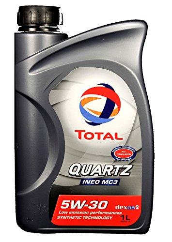 Olio motore auto Total Quartz Ineo MC3 5W30 Dexos2/ACEA C3-3 LITRI