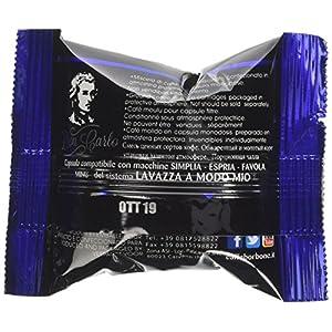Caffè Borbone Don Carlo Miscela Blu - Confezione da 100 Capsule - Compatibili con macchine a marchio Lavazza®*A Modo Mio®* 7 spesavip