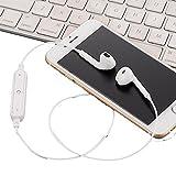 Iiloens Bluetooth Wireless In-Ear Stereo-Ohrhörer Sport Lauf Gym Nackenbügel Kopfhörer mit Mikrofon Bluetooth-Kopfhörer