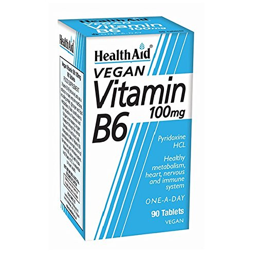 Acid 100 Mg Tabletten (Vitamin B6 (Pyridoxine HCl) 100mg 90 Tabletten HA)