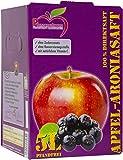 Pfannenschwarz Apfel-Aroniasaft 100% Direktsaft