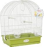 Zolux Käfig salomée für Vogel exotischen/Wellensittich Olive 40x 31x 48cm