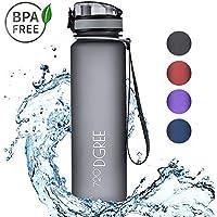 """720°DGREE Trinkflasche """"uberBottle"""" - 1L   Wasserflasche Auslaufsicher   Sportflasche BPA-Frei   Schule, Sport, Wasser, Fahrrad"""
