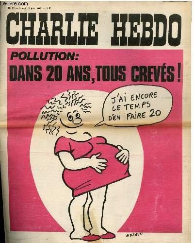 Charlie hebdo n°82 - pollution : dans 20 ans tous creves !
