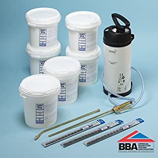 DryFix DPC Damp Proofing Injection Cream BBA 5Ltrs x 6 Kit