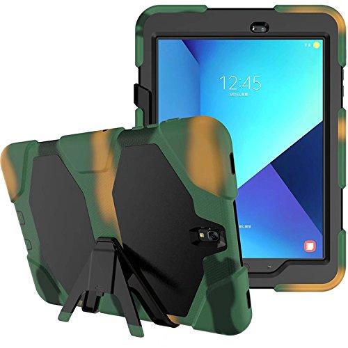 3in1 Outdoor Cover für Samsung Galaxy Tab S3 9.7 Zoll (SM-T820 / SM-T825) stoßfestes Hardcase und Silikonrahmen Tablet Hybrid