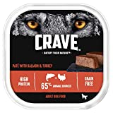 Crave High Protein and Grain-Free Dog Paté, 10 x 300g