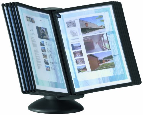 Durable Sherpa Motion Desktop Reference System with Black Border Panels (DBL553901) by Durable Motion Desktop