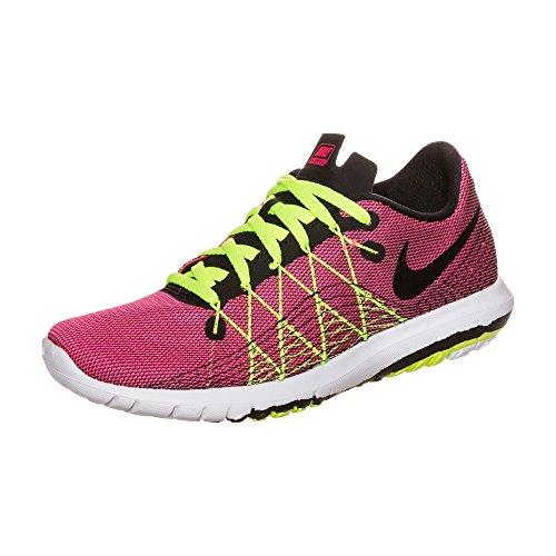 Nike Mädchen Flex Fury 2 (Gs) Laufschuhe Rosa (Hyper Pink / Black-Volt-White)
