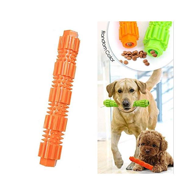 Jouet à mâcher pour chiens résistant aux morsures et durable - Distributeur de friandises en jouet pour le nettoyage des dents des chiots moyens et des chiens