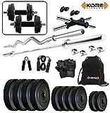#1: Kore K-PVC-20KGCOMBO2 Home Gym and Fitness Kit