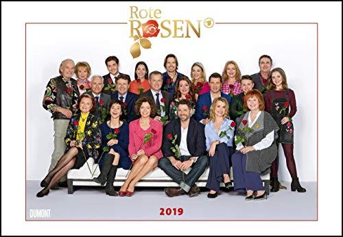 Rote Rosen - Wandkalender 2019