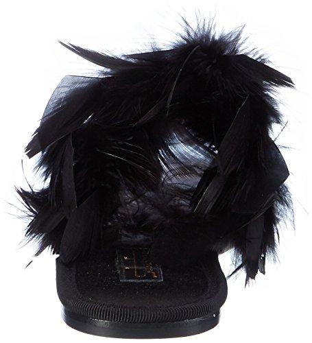 Sebastian S7384, Mocassins Femme Schwarz (Black)