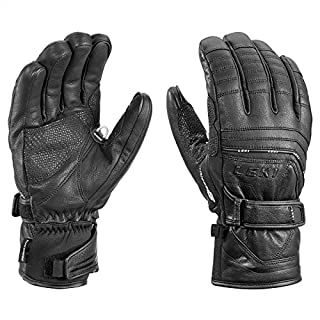 LEKI Handschuhe Aspen S MF Touch, Schwarz, 9, 634821039
