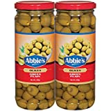 Abbie's Green Whole Olive 450g, Pack of 2, Product of Spain