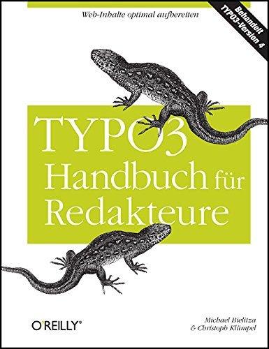 TYPO3-Handbuch für Redakteure by Michael Bielitza (2007-06-01)