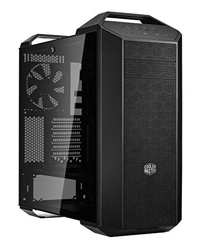 Cooler Master MasterCase MC500 - Cajas de ordenador de sobremesa 'E-ATX, ATX, mATX, mini-ITX, FreeForm Modular System, Panel lateral de vidrio templado' MCM-M500-KG5N-S00