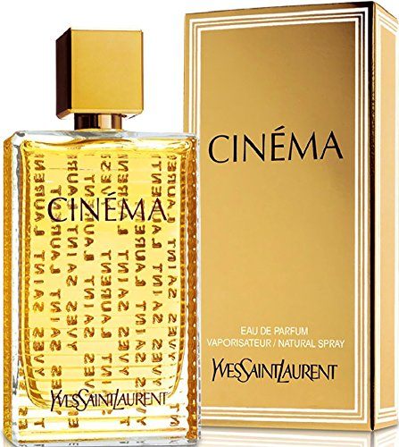 Cinema By Yves Saint Laurent For Women. Eau De Parfum Spray 1.6 Ounces